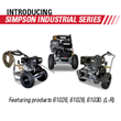 SIMPSON® Launches Industrial Pressure Washer Series at the 2019 ARA Show