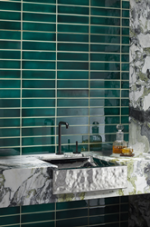 ANN SACKS® Collaborates with Kohler WasteLAB on the Crackle Collection