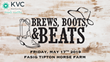 KVC Kentucky Holds 2nd Annual  Brews, Boots & Beats Concert Event