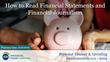 "Financial Poise™ Announces ""How to Read Financial Statements and Financial Journalism,"" a New Webinar Premiering May 22th at 2:00 PM CST through West LegalEdcenter™"