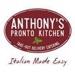 New Italian Takeout & Delivery Concept, Anthony's Pronto Kitchen, Goes All-In With Food Delivery Apps: Uber Eats, Door Dash, Grub Hub and Delivery Dudes