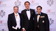 Canadian Delegate of the Savoy Orders, Giuseppe Ruffolo, HRH Prince Emmanuel Philibert of Savoy with US Delegate and Savoy Foundation Chairman of the Board Carl J. Morelli