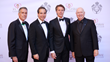Event Chair and Savoy Foundation Board Member Daniel J. McClory, Benefactor Sinan Kanatsiz, HRH Philibert Emmanuel of Savoy and Bruno Serato, Founder of Caterina's Club