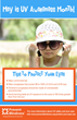 Protecting Eyes from Ultraviolet (UV) Rays Today Helps to Save Healthy Vision in the Future
