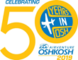 EAA AirVenture Oshkosh 2019 marks the 50th consecutive year that the Experimental Aircraft Association has held its fly-in convention at Oshkosh, Wisconsin.