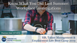 "Financial Poise™ Announces ""Know What You Did Last Summer: Workplace Investigations,"" a New Webinar Premiering August 7th at 1:00 PM CST through West LegalEdcenter™"