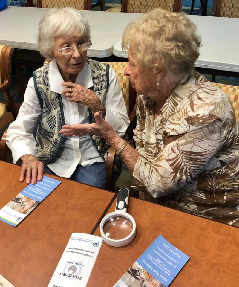 Connecting The Visually Impaired And Blind Community With