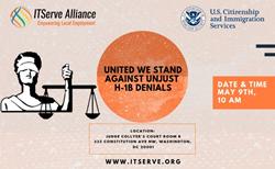 Mass Litigation Hearing on Arbitrary and Unlawful H-1B Visa Denials