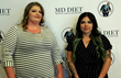 Nancy and Nisa Ledezma, MD Diet winners receive Mommy Makeover