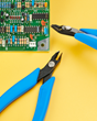 The New Xuron® Model 9250ET Micro-Shear® Flush Cutter Provides Easy Access to PC Board Components