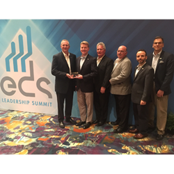 Heilind accepts #1 electronics distributor award