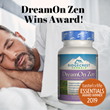 RidgeCrest Herbal's DreamOn Zen Wins Taste For Life Women's Essentials Award