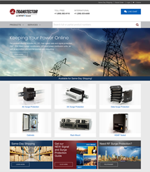 Transtector Brings Simplicity, Convenience and Speed of E-Commerce to New Website