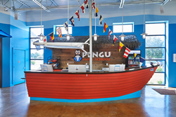 Pengu Swim School Towne Lake Beach Themed Interior