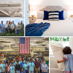 Bedding Made In The Usa From 100 Organic Cotton