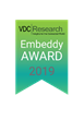 VDC Research Announces 2019 Embeddy Awards Program to Take Place at  Embedded Technologies Expo & Conference