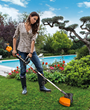 New WORX 40-Volt Trimmer/Edger Packs Power Aplenty, Plus Electronic Line Advance and Variable Speed