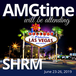 AMGtime Returns to SHRM 2019 Annual Conference & Exposition
