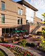 Prairie River Restaurant Outdoor Patio at Eaglewood Resort and Spa