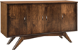 New Buffet from Brandenberry Amish Furniture Brings 1950s-Era Vibe to 21st Century Homes