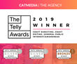 CATMEDIA has a Triple Win in the 40th Anniversary of the Telly Awards!