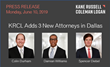 Kane Russell Coleman Logan Adds 10 New Attorneys in First Half of 2019