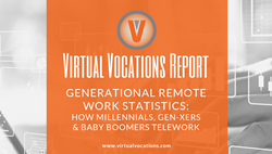 Virtual Vocations Report: Generational Remote Work Statistics