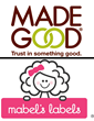 Award-Winning Personalized Label Company, Mabel's Labels, Announces Partnership With Allergy-Friendly Snack Creator, MadeGood®