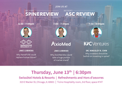 KICVentures To Host Talk on How AxioMed Total Disc