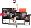AAU Enters Multi-Year Partnership with BallerTV to Stream World's Largest Volleyball Event