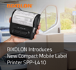 BIXOLON Introduces New Compact Mobile Label Printer SPP-L410