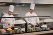 Embassy Suites by Hilton Atlanta – Alpharetta's breakfast chefs making up memorable meals daily.