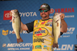 Matt Arey Builds On Strong Start, Takes Day 2 Lead At Academy Sports + Outdoors Bassmaster Elite at Lake Guntersville Event