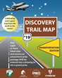 Fairfax County Park Authority's Discovery Trail Map celebrates transportation.