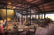 Cap Rock Members Club at Horseshoe Bay, main clubhouse interior (rendering by three)