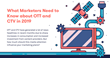 What Marketers Need to Know about OTT and CTV Trends in 2019