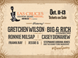 7th Annual Las Cruces Country Music Festival Lineup October 11-13 Features Gretchen Wilson, Big & Rich with Cowboy Troy, Ronnie Milsap and More