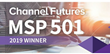 ProviDyn® Ranked Again by Channel Futures as one of the Top 501 Managed Services Providers in the World