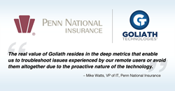 Penn National Insurance selects Goliath Technologies to support its virtual workspace initiative