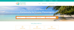 Resort for a Day New Website