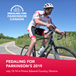 WellnessLiving Sponsoring the First Pedaling for Parkinson's Event in Prince Edward County Ontario