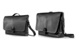 Executive Leather Messenger — compact and full sized models