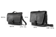 Executive Leather Messenger — exterior dimensions