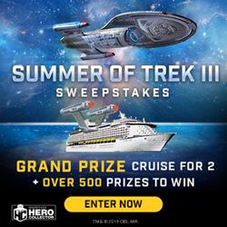 "Get Your Trek On"" to Win the Ultimate Star Trek Voyage"