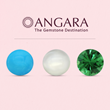 Angara.com Launches Moonstone, Turquoise & Tsavorite Jewelry