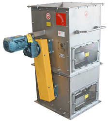 Dual Drum Magnetic Separator from Industrial Magnetics, Inc.