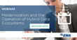 New Research on Hybrid Data Ecosystems to be Explored During EMA Webinar