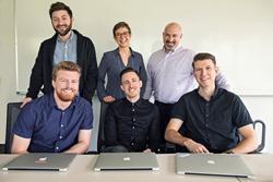 Los miembros del equipo de Climb Marketing.