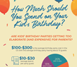 Discount Party Supplies Infographic Breaks Down the True Cost of Kids' Birthday Parties
