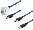 New Latching USB 3.0 Cable Assemblies Address Heavy Vibration Applications